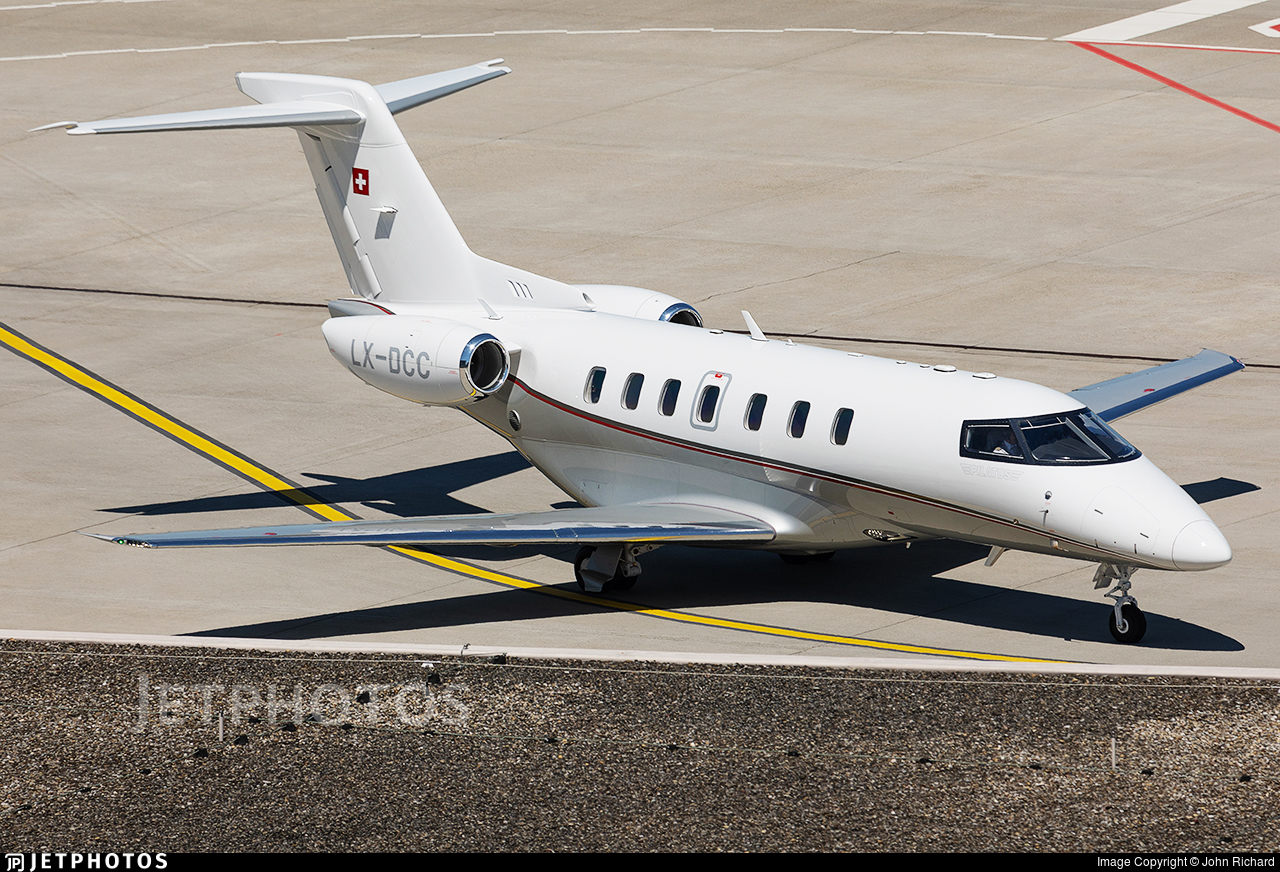 LX-DCC - Pilatus PC-24 - Jetfly Aviation