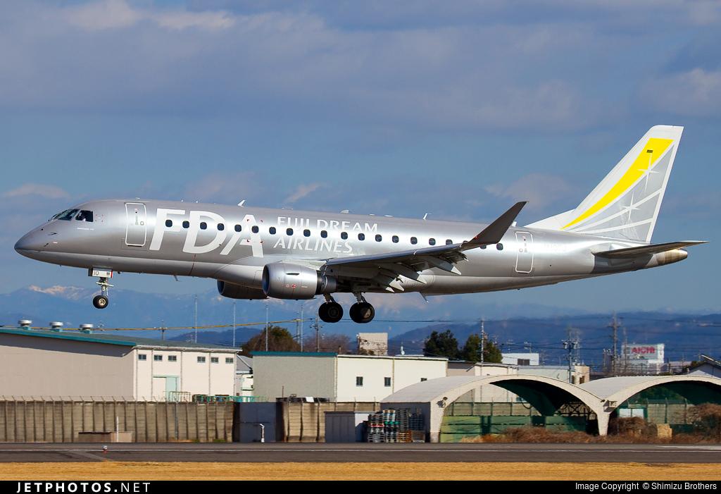 JA10FJ - Embraer 170-200STD - Fuji Dream Airlines