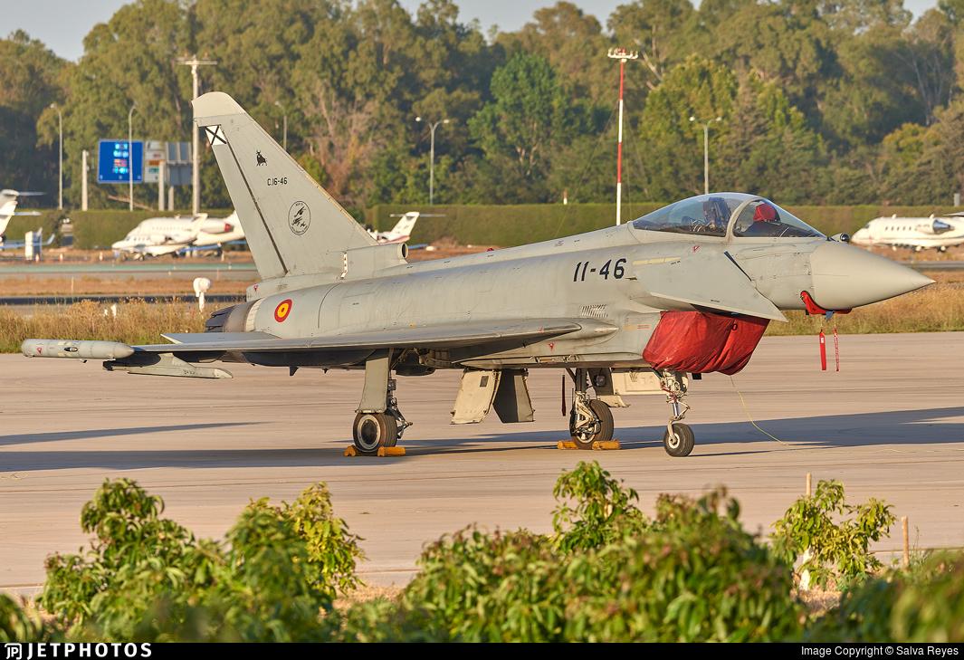 C.16-46 - Eurofighter Typhoon EF2000 - Spain - Air Force