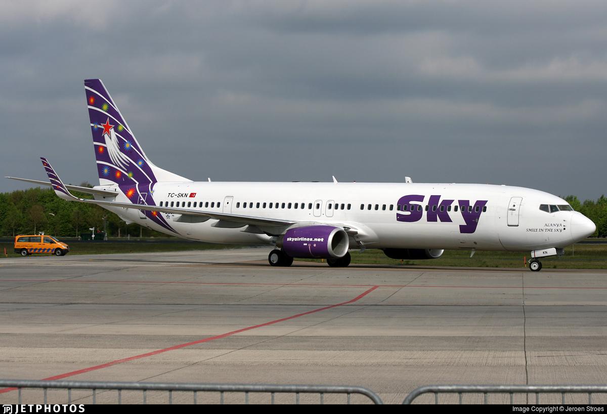 TC-SKN - Boeing 737-94XER - Sky Airlines