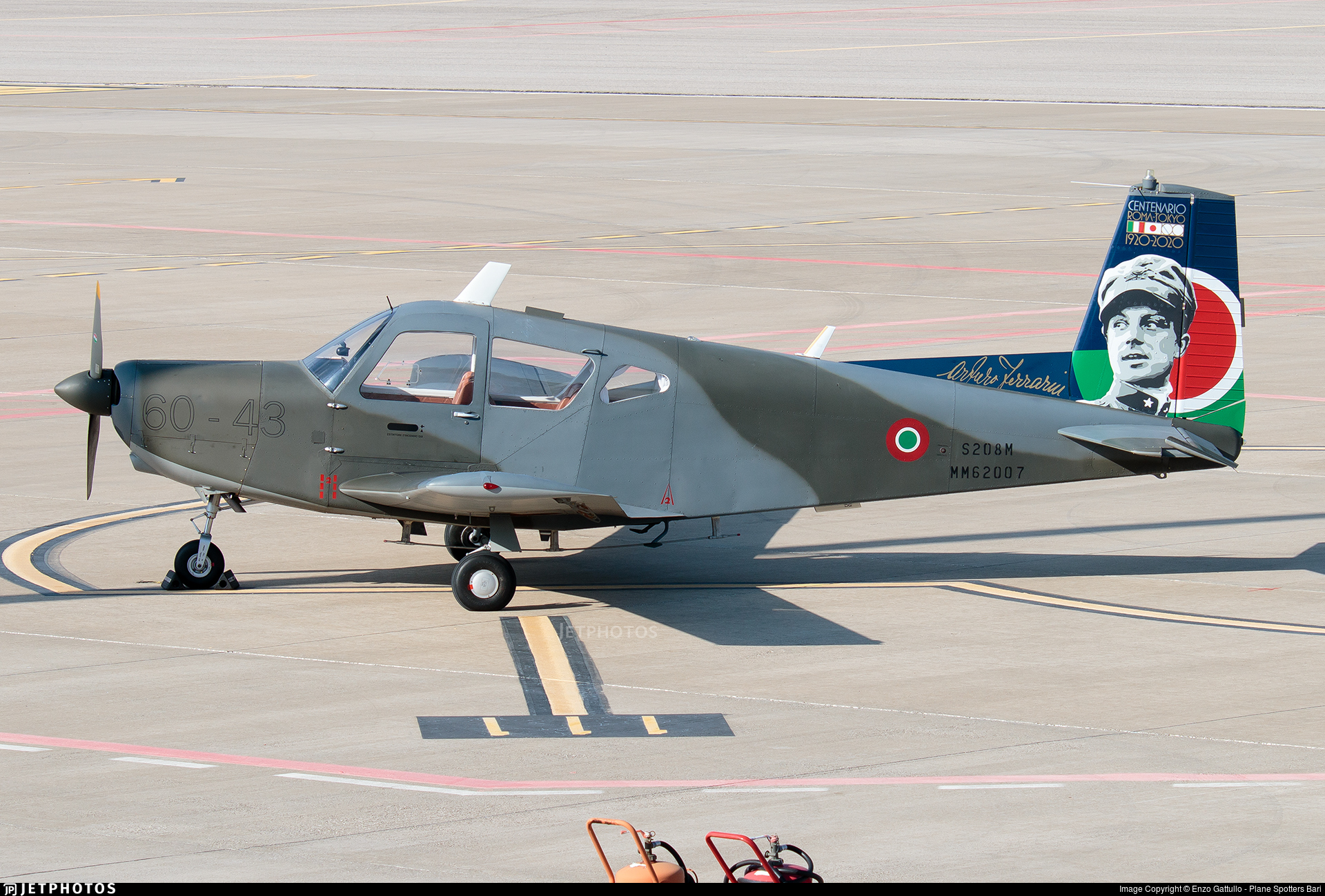 MM62007 - SIAI-Marchetti S208M - Italy - Air Force