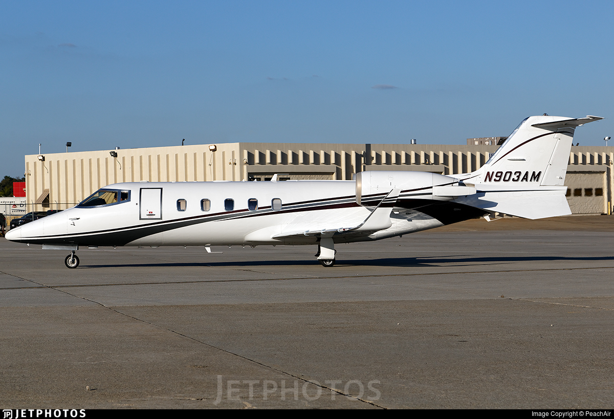 N903AM - Bombardier Learjet 60 - Private