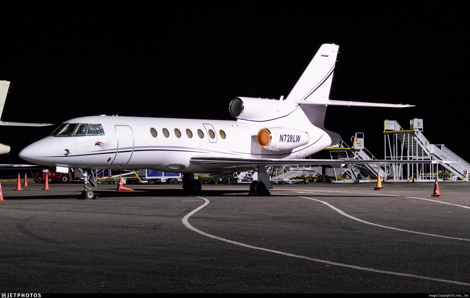 N728LW - Dassault Falcon 50 - Private