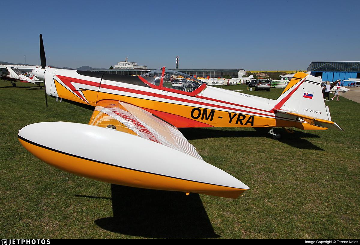OM-YRA - Zlin 526AFS-V - Private