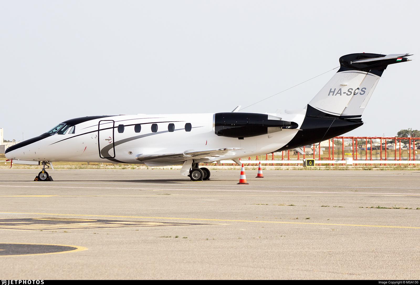 HA-SCS - Cessna 650 Citation VII - Jetstream Air