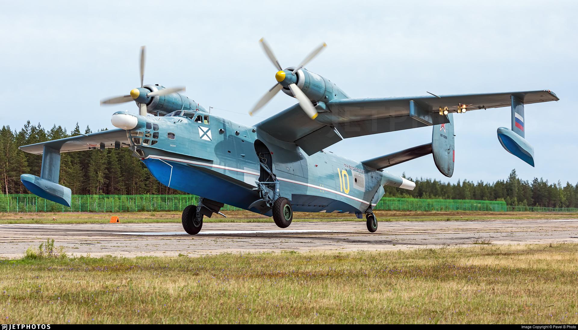 RF-12006 - Beriev Be-12 - Russia - Navy