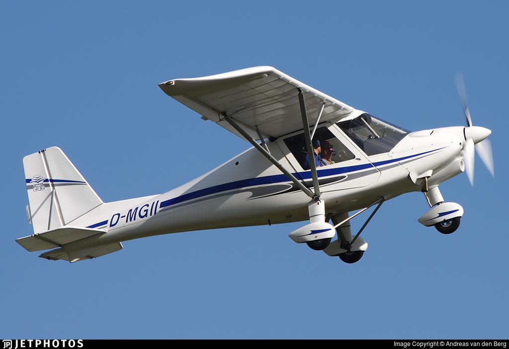 D-MGII - Ikarus C-42B - Flugschule Michael Bergmann