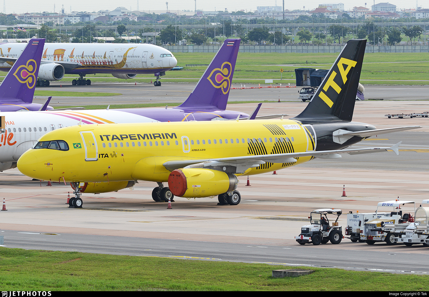 HS-PPA - Airbus A319-132 - ITA Transportes Aereos
