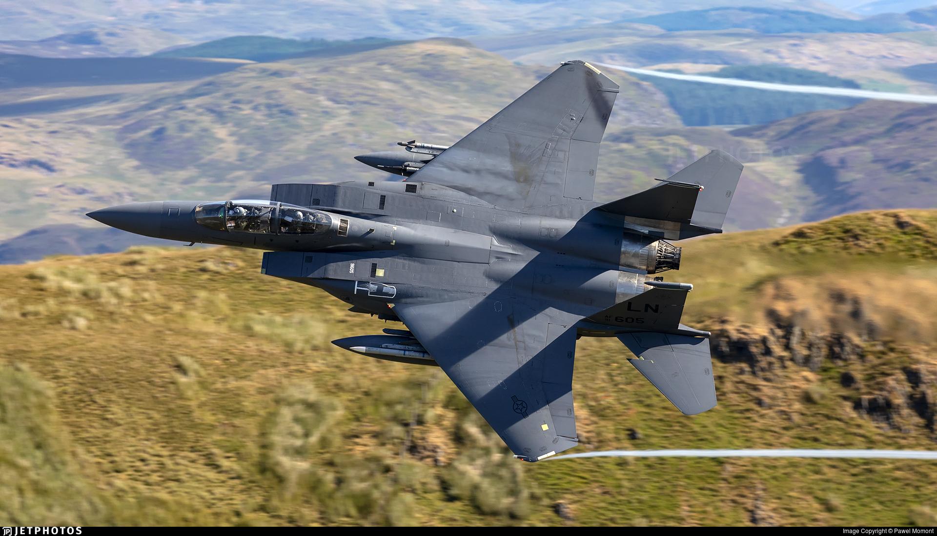 91-0605 - McDonnell Douglas F-15E Strike Eagle - United States - US Air Force (USAF)