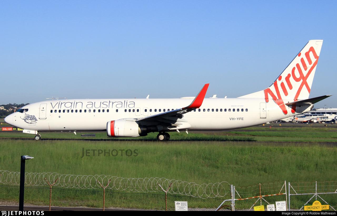 VH-YFE - Boeing 737-81D - Virgin Australia Airlines
