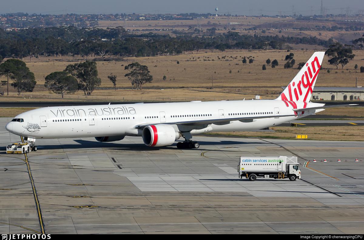 VH-VPD - Boeing 777-3ZGER - Virgin Australia Airlines