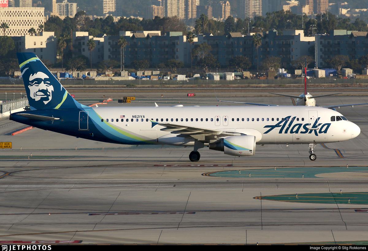 N621VA - Airbus A320-214 - Alaska Airlines