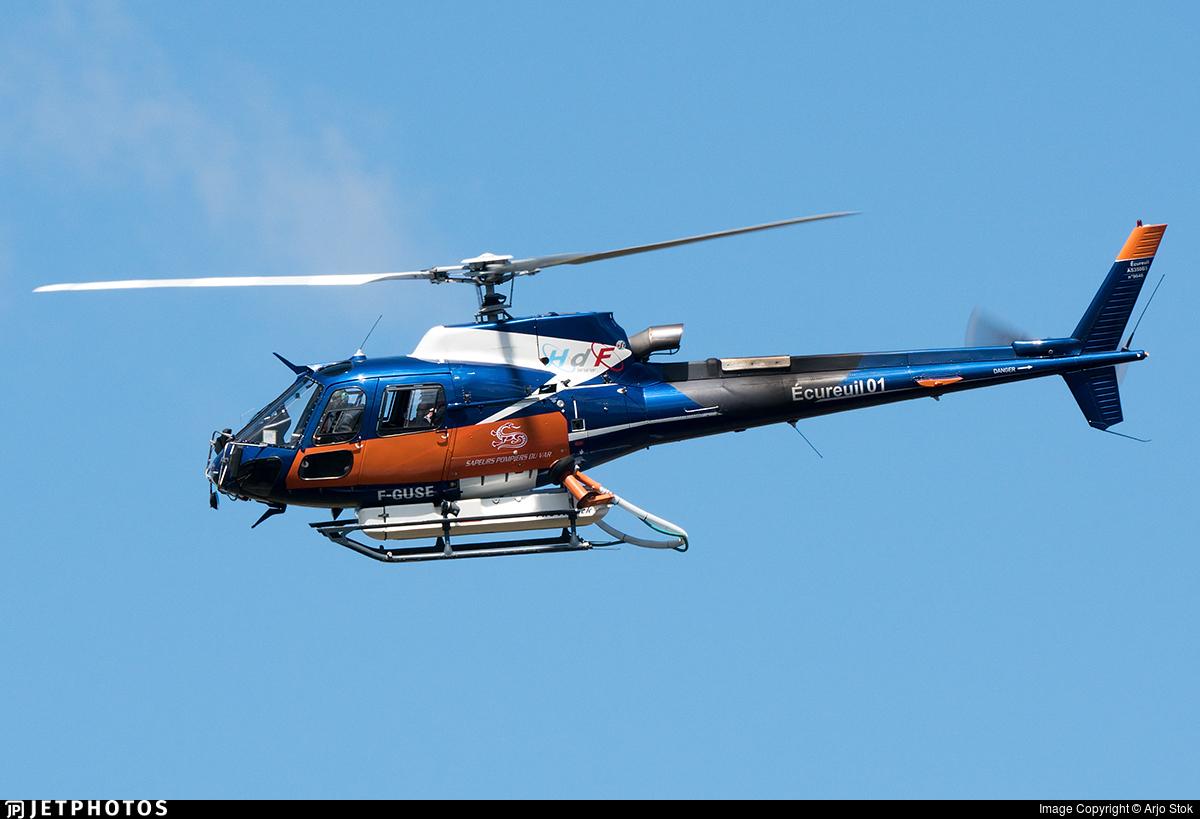 F-GUSE - Eurocopter AS 350B2 SuperStar - Hélicoptères de France (HDF)