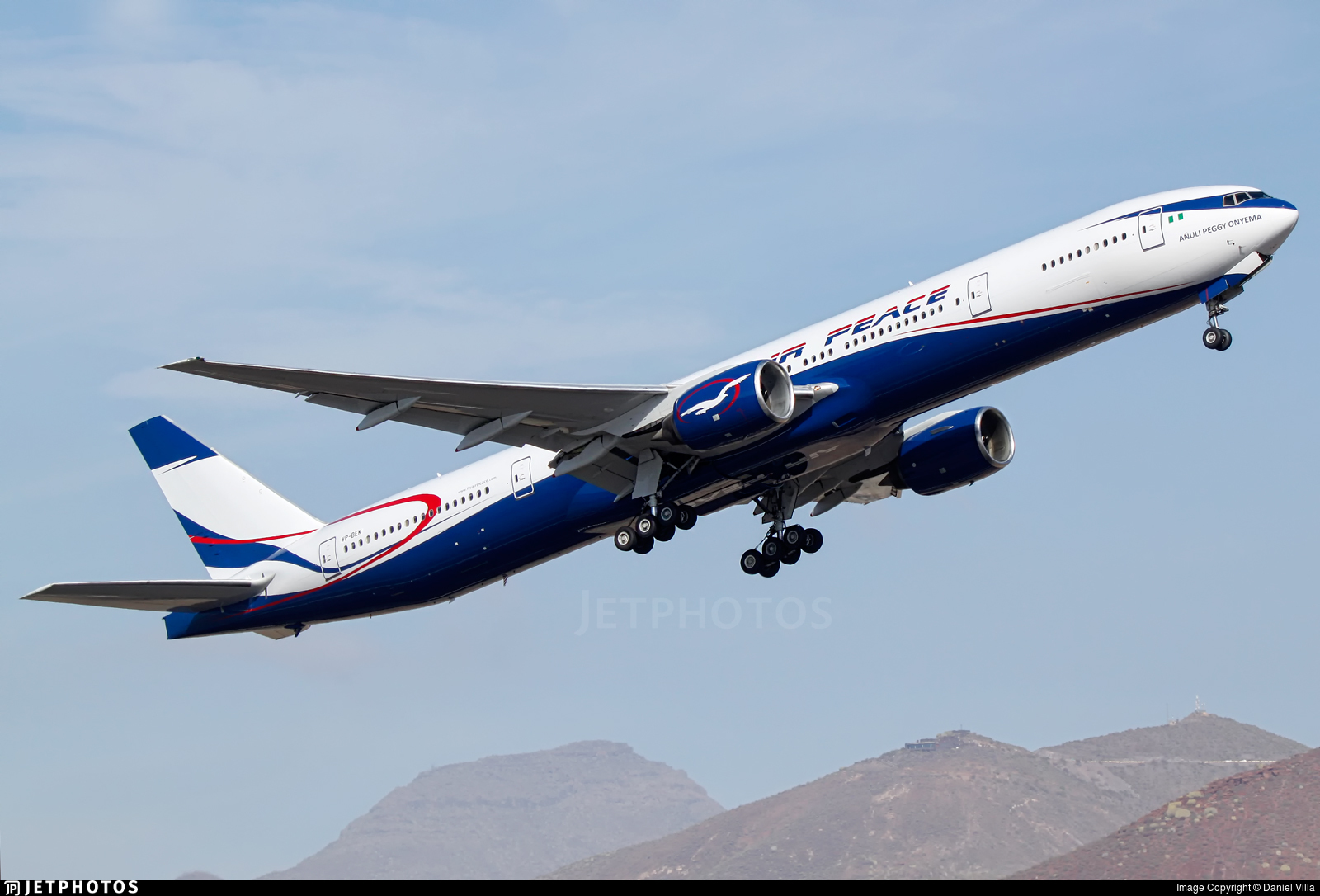 VP-BEK - Boeing 777-312 - Air Peace
