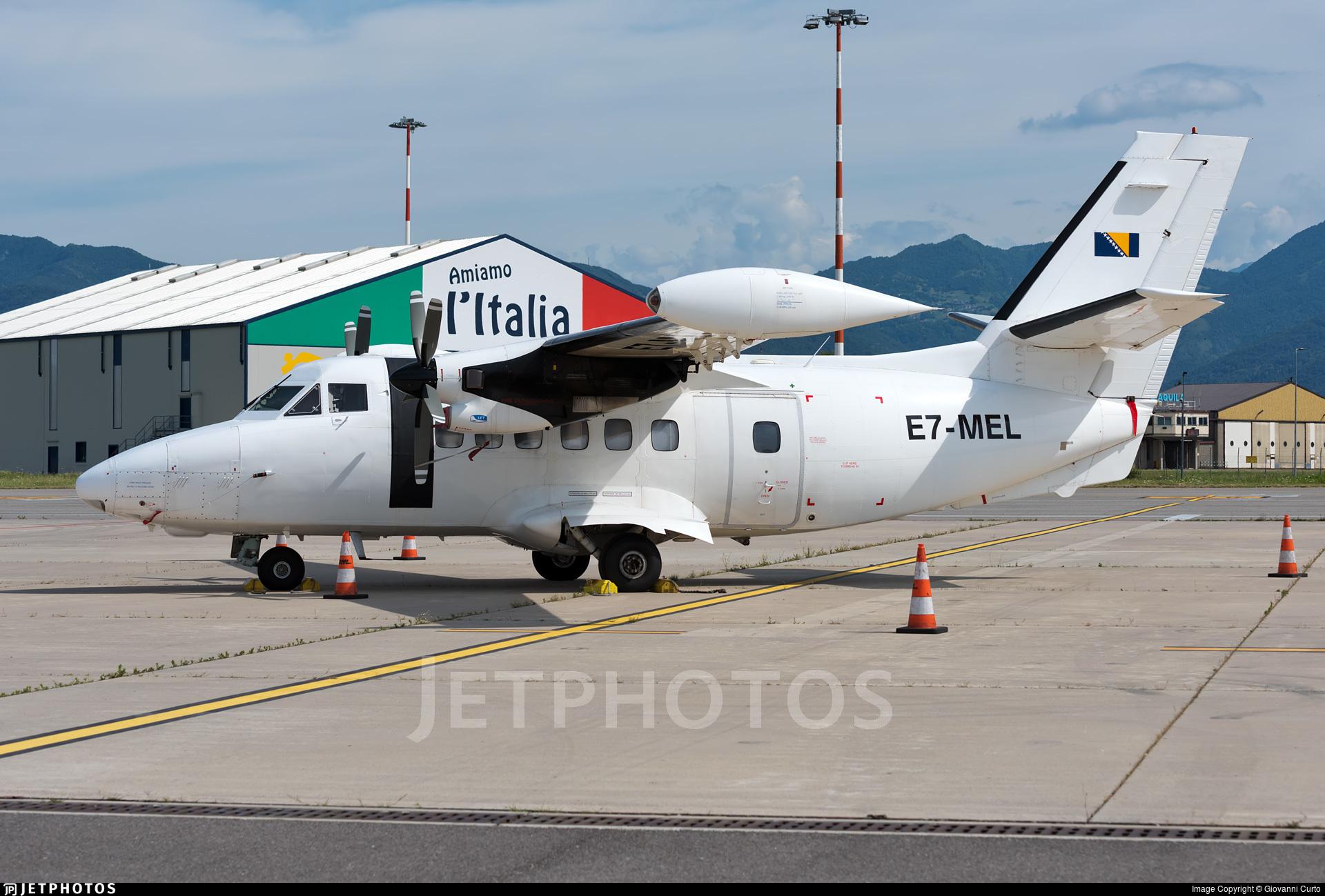 E7-MEL - Let L-410UVP-E Turbolet - Icar Air
