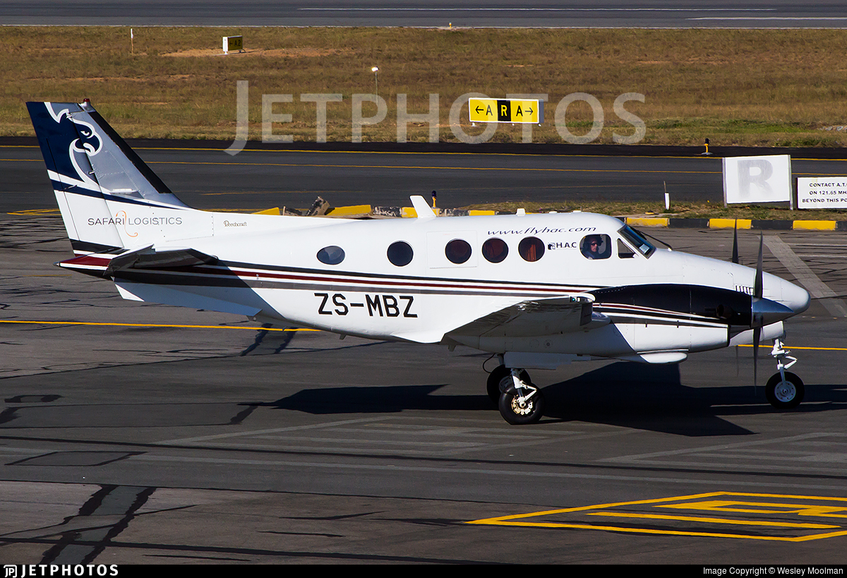 ZS-MBZ - Beechcraft C90 King Air - Private