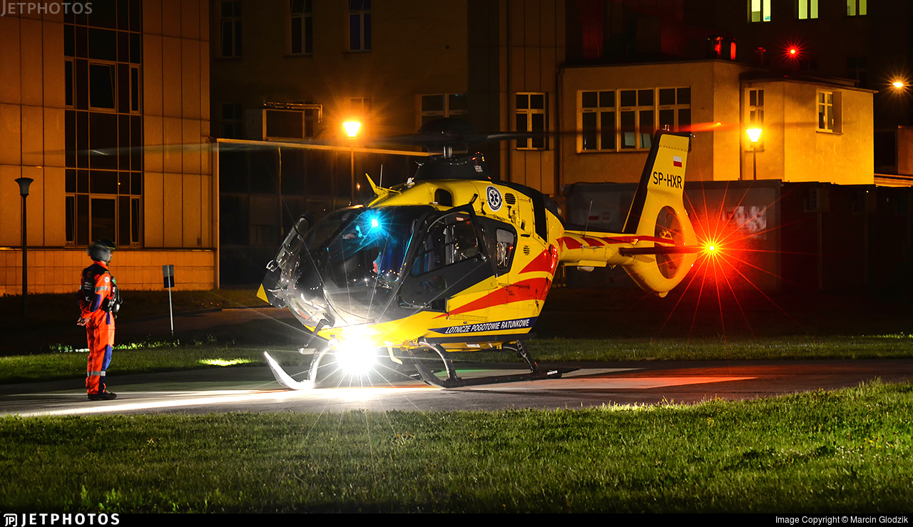 SP-HXR - Eurocopter EC 135P3 - Lotnicze Pogotowie Ratunkowe