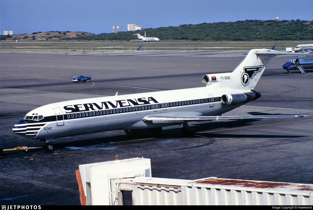 YV-608C - Boeing 727-227 - Servivensa