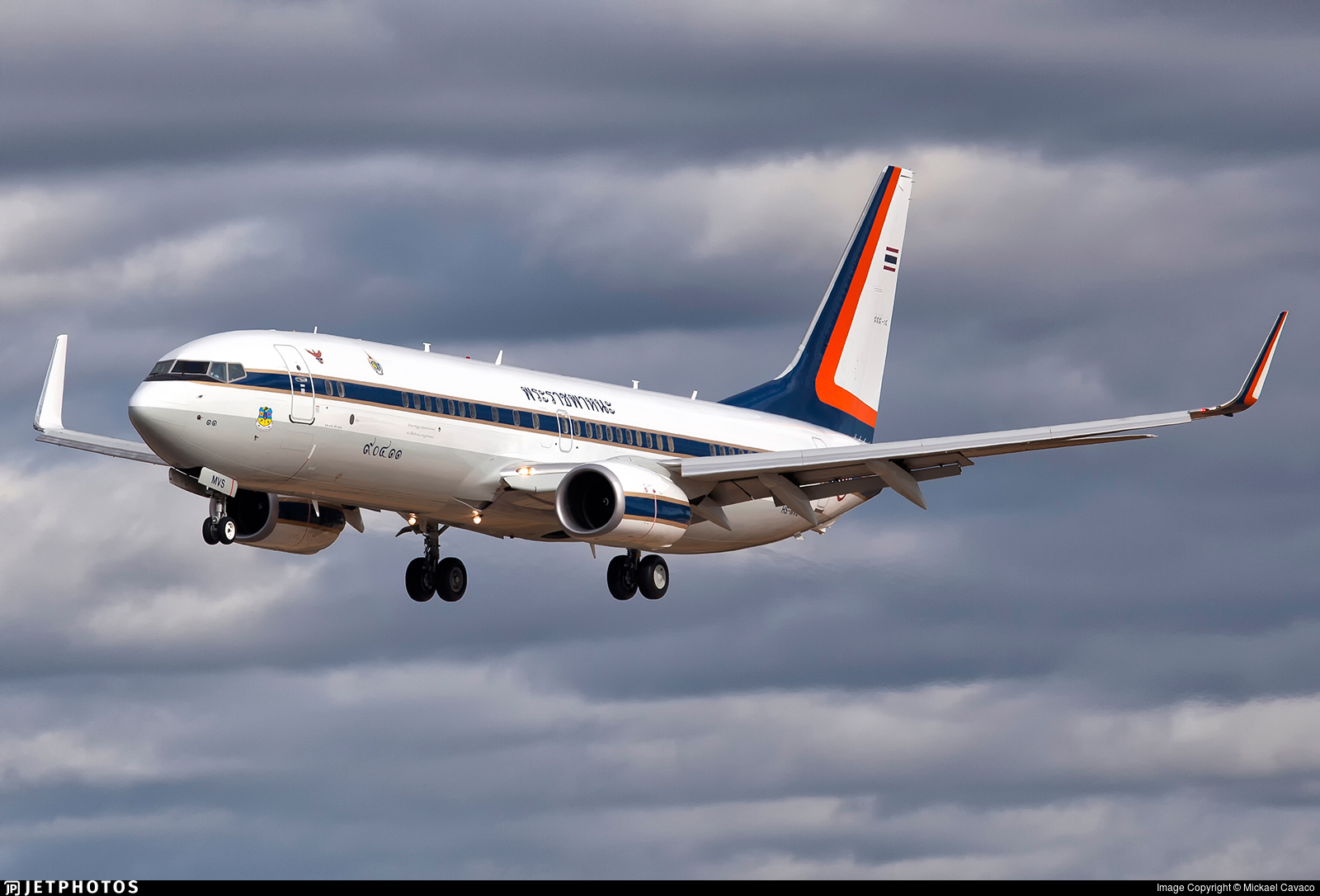 HS-MVS - Boeing 737-8Z6(BBJ2) - Thailand - Royal Thai Air Force