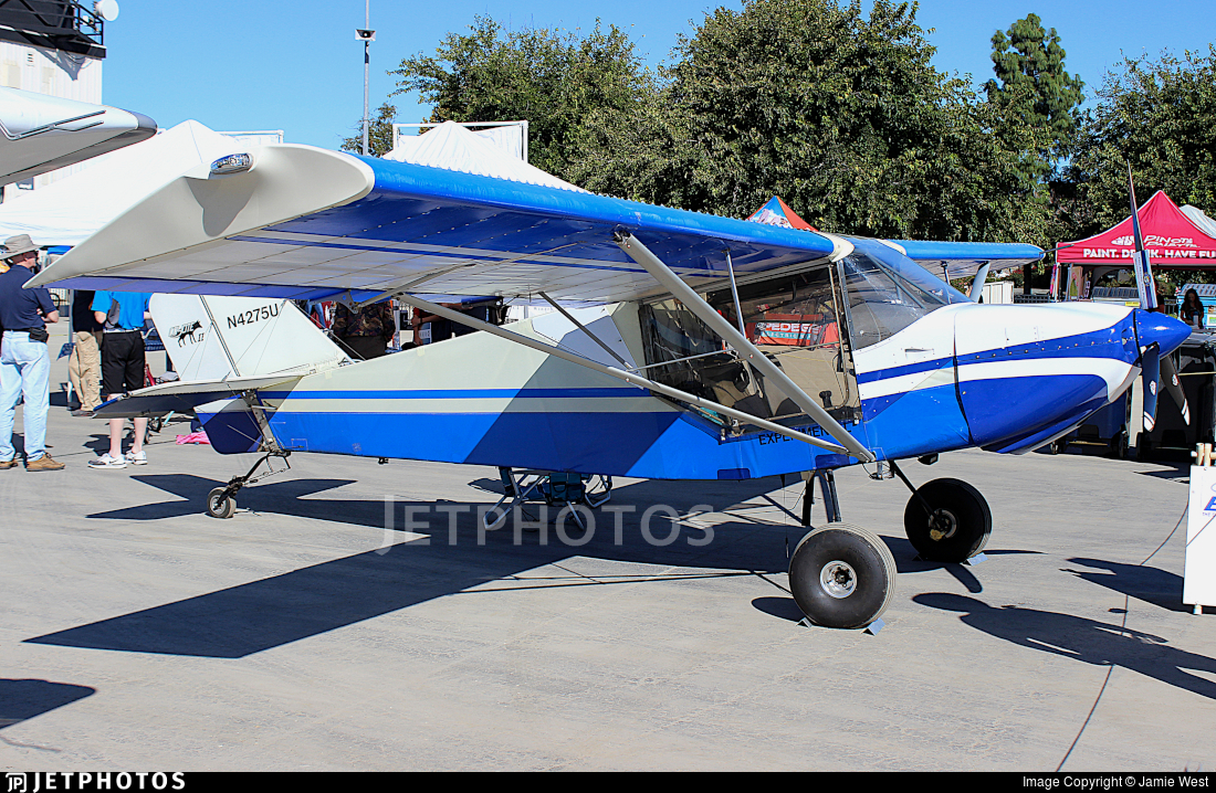 N4275U - Rans S-6 Coyote II - Private
