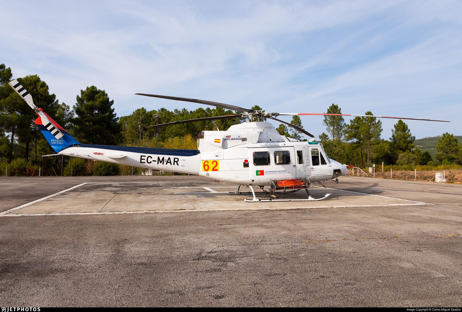 EC-MAR - Bell 412 - HeliBravo