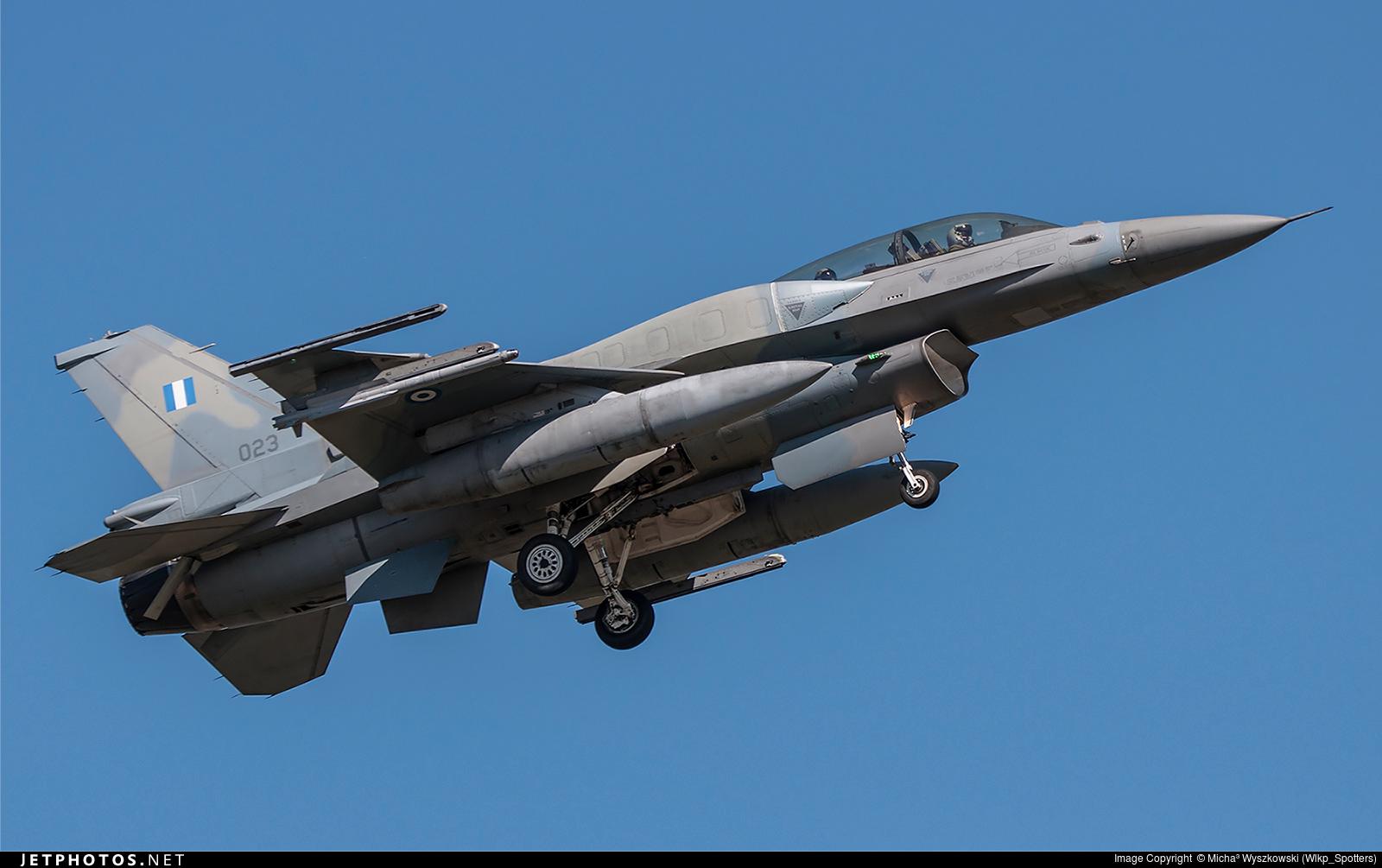 023 - Lockheed Martin F-16D Fighting Falcon - Greece - Air Force