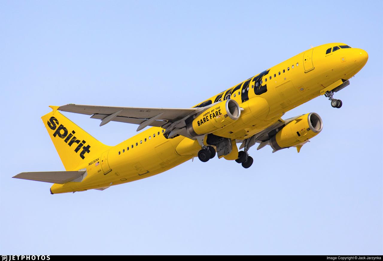 N606NK - Airbus A320-232 - Spirit Airlines