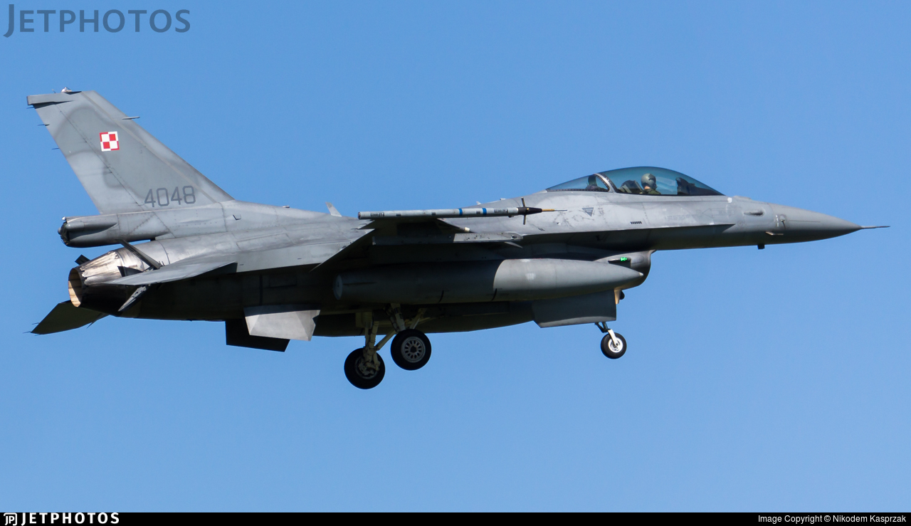 4048 - Lockheed Martin F-16C Fighting Falcon - Poland - Air Force