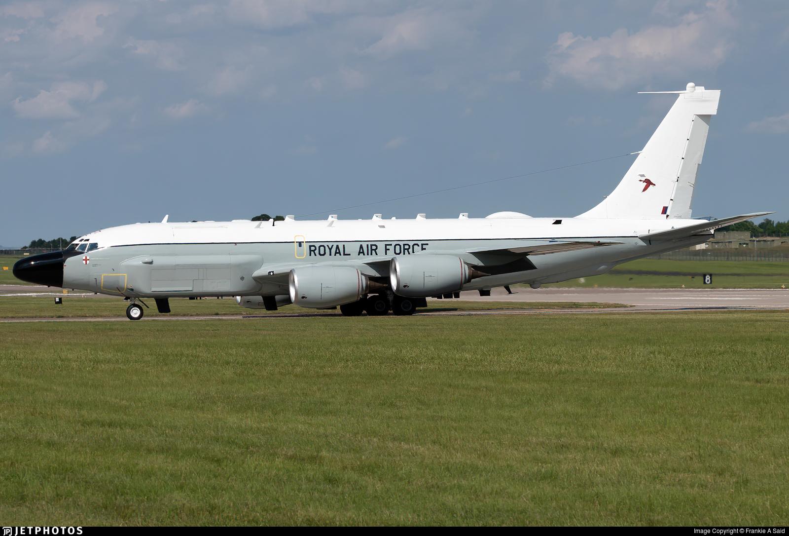 ZZ664 - Boeing RC-135V Rivet Joint - United Kingdom - Royal Air Force (RAF)