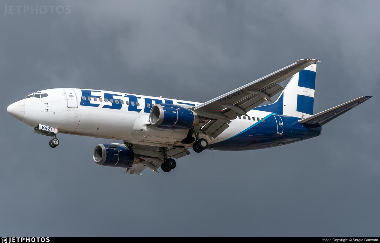 YV642T - Boeing 737-33A - Estelar
