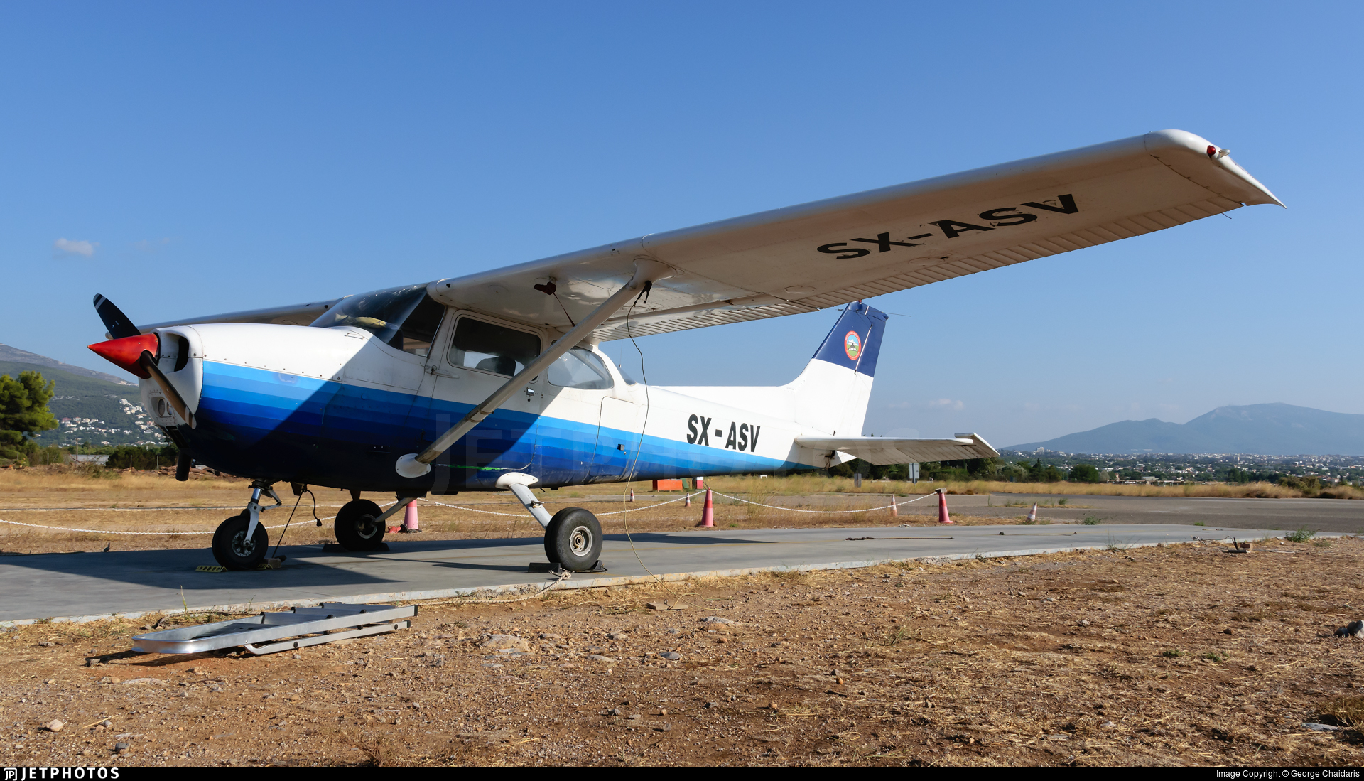 SX-ASV - Reims-Cessna F172M Skyhawk - Mesogeion Aeroclub