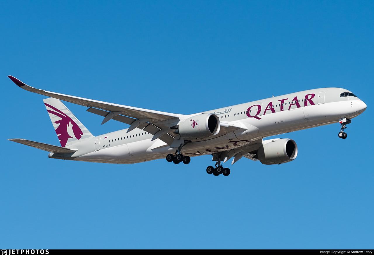 A7-ALU - Airbus A350-941 - Qatar Airways