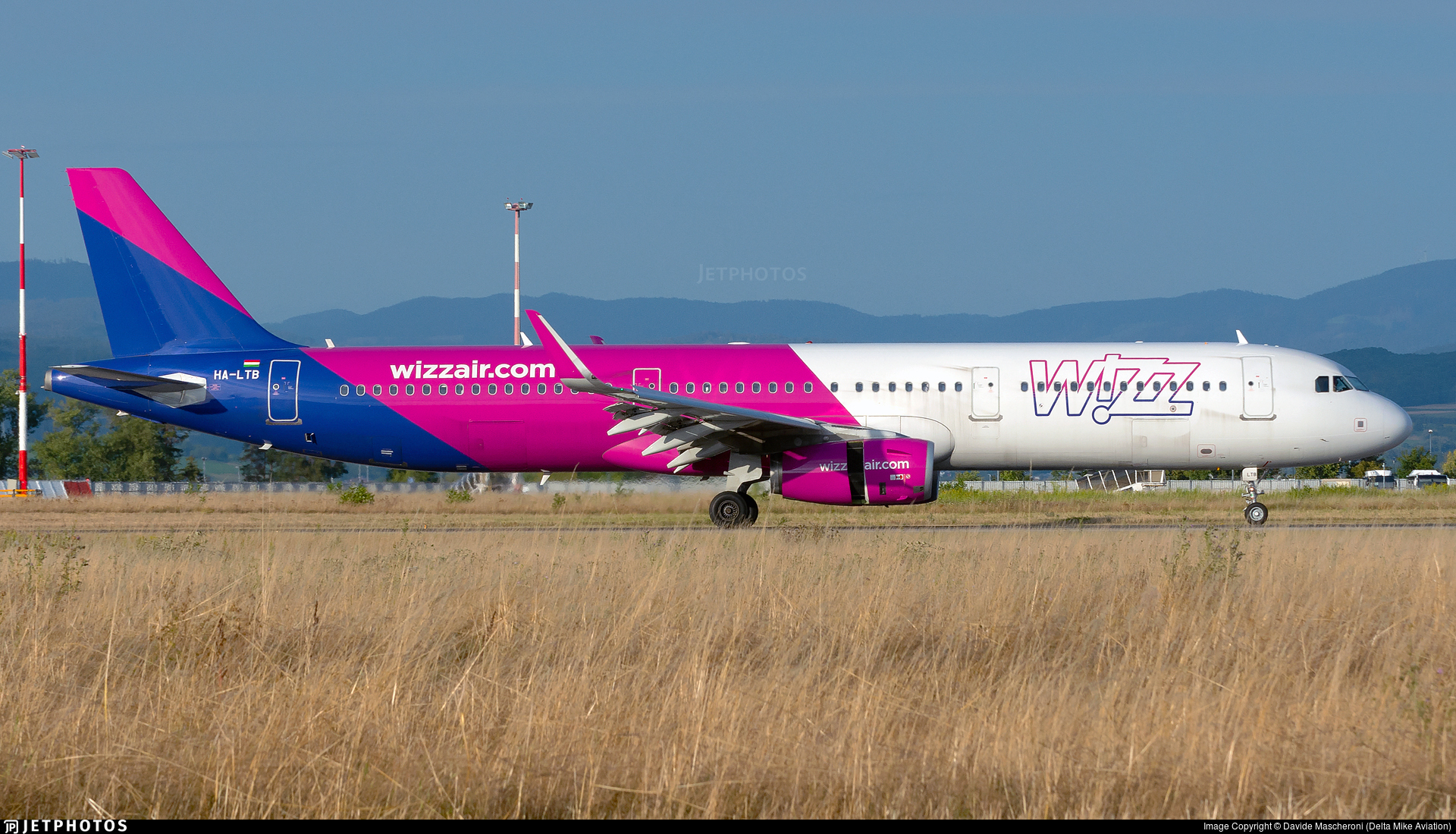 HA-LTB - Airbus A321-231 - Wizz Air