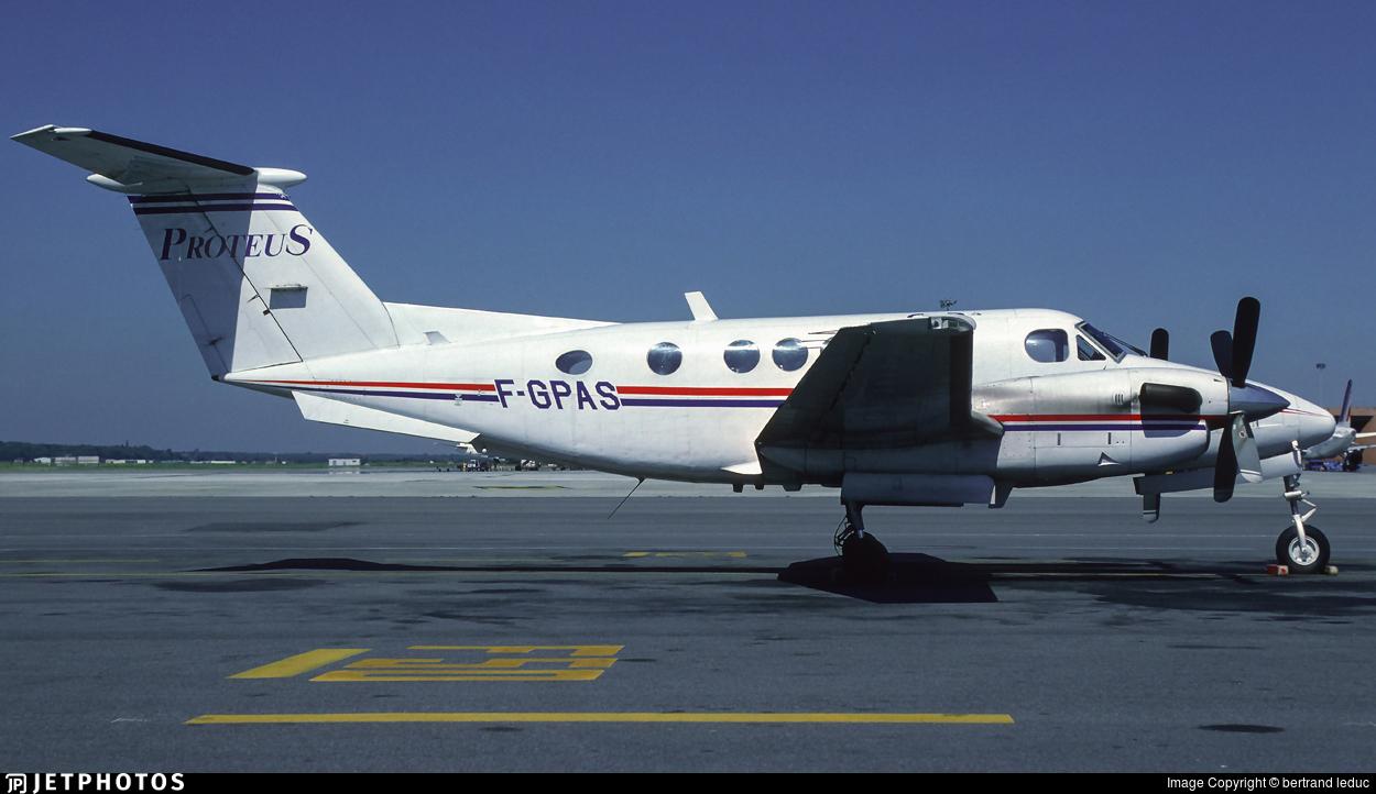 F-GPAS - Beechcraft 200 Super King Air - Proteus Airlines