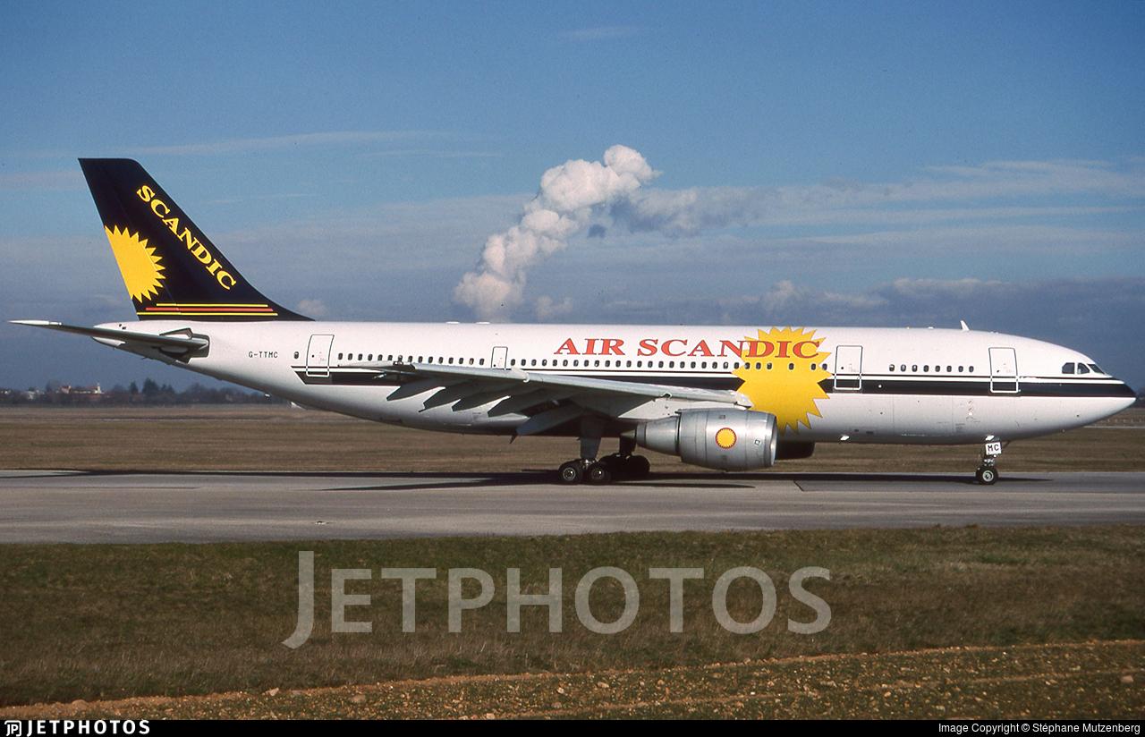 G-TTMC - Airbus A300B4-203 - Air Scandic