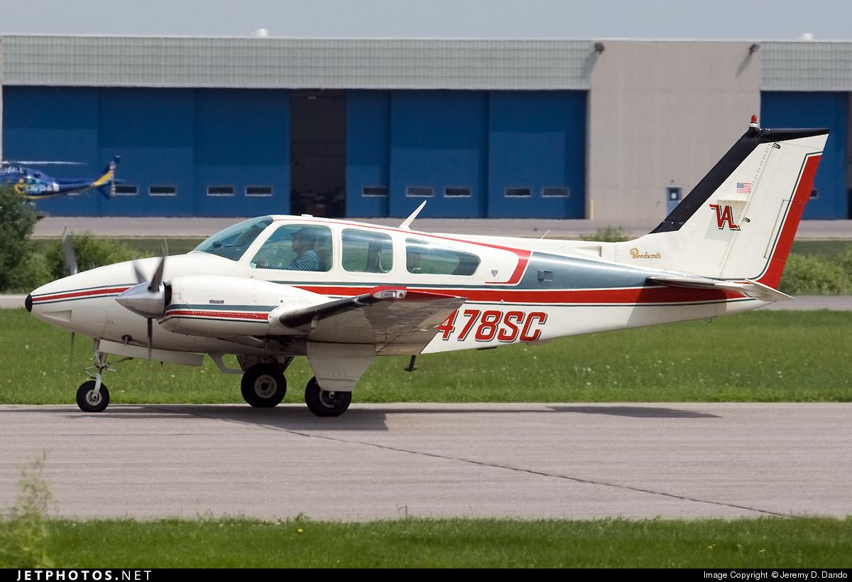 N478SC - Beechcraft B95 Travel Air - Private
