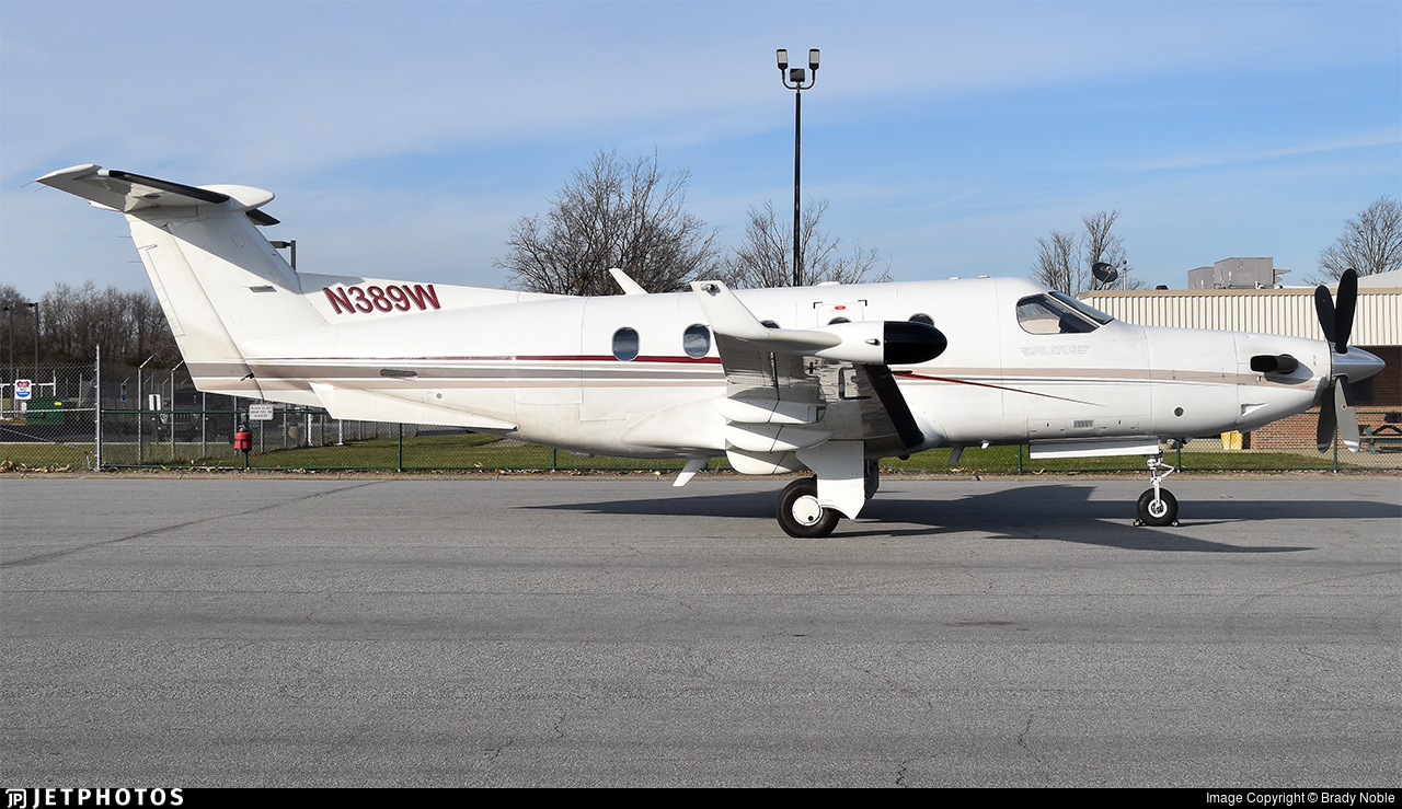 N389W - Pilatus PC-12/45 - United States - State of Wisconsin