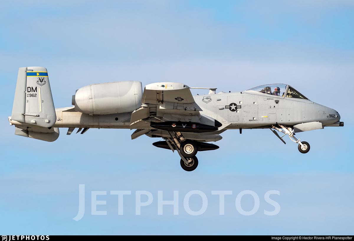 81-0962 - Fairchild A-10C Thunderbolt II - United States - US Air Force (USAF)