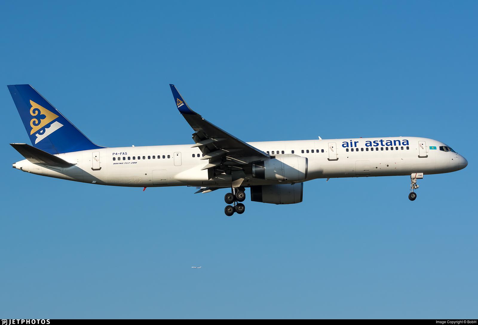 P4-FAS - Boeing 757-2G5 - Air Astana