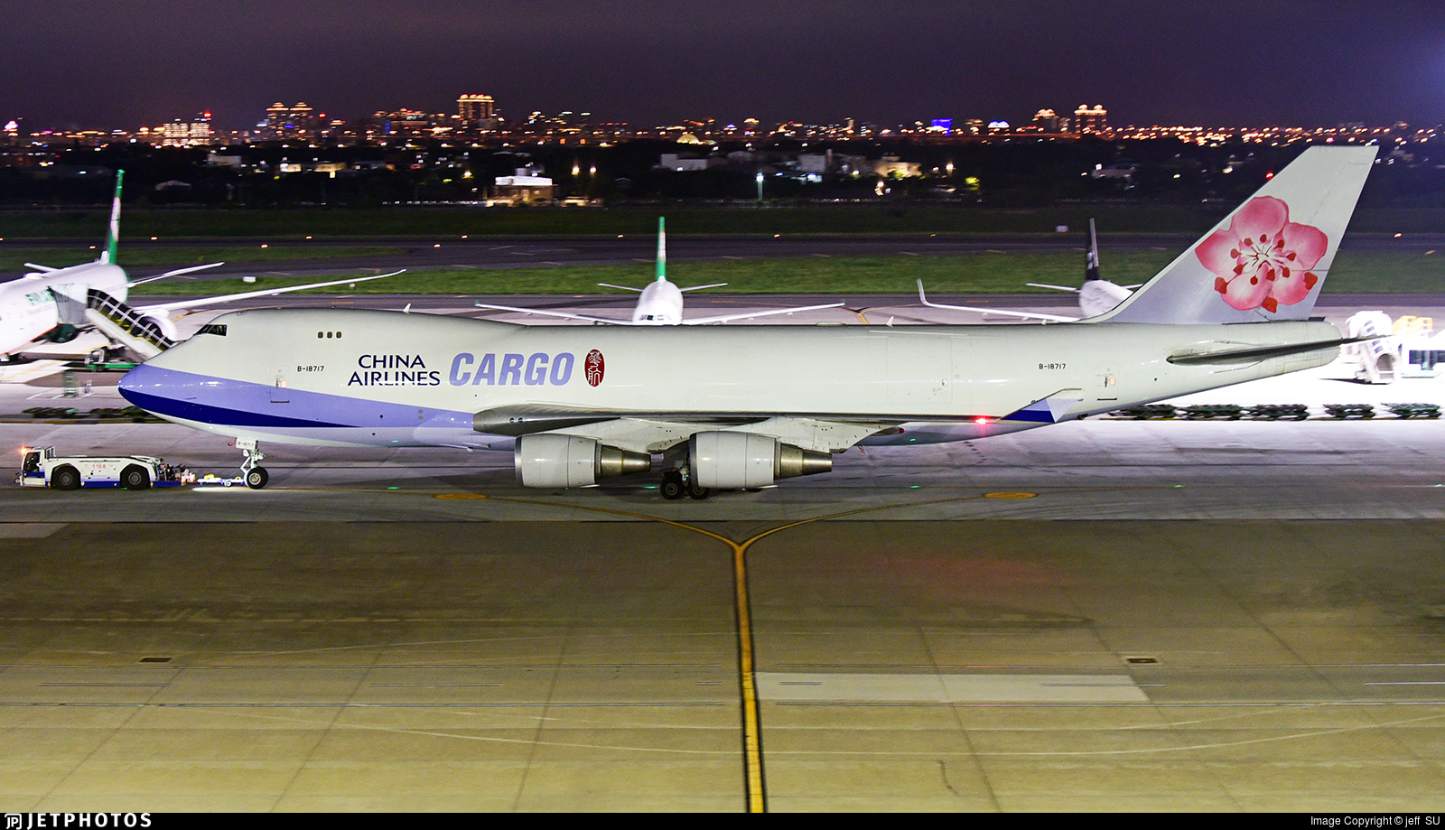 B-18717 - Boeing 747-409F(SCD) - China Airlines Cargo