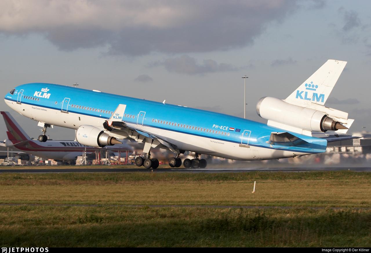 PH-KCE - McDonnell Douglas MD-11 - KLM Royal Dutch Airlines