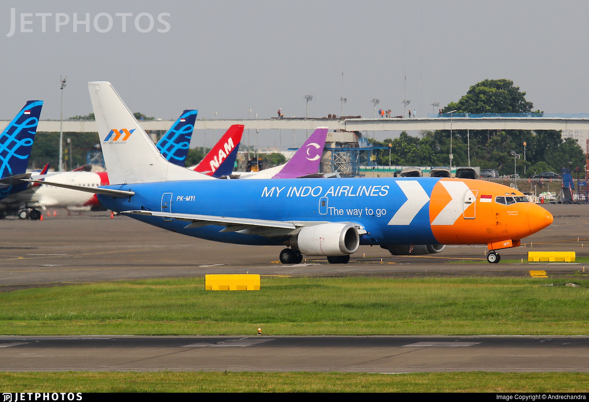 PK-MYI - Boeing 737-3Z0(SF) - My Indo Airlines