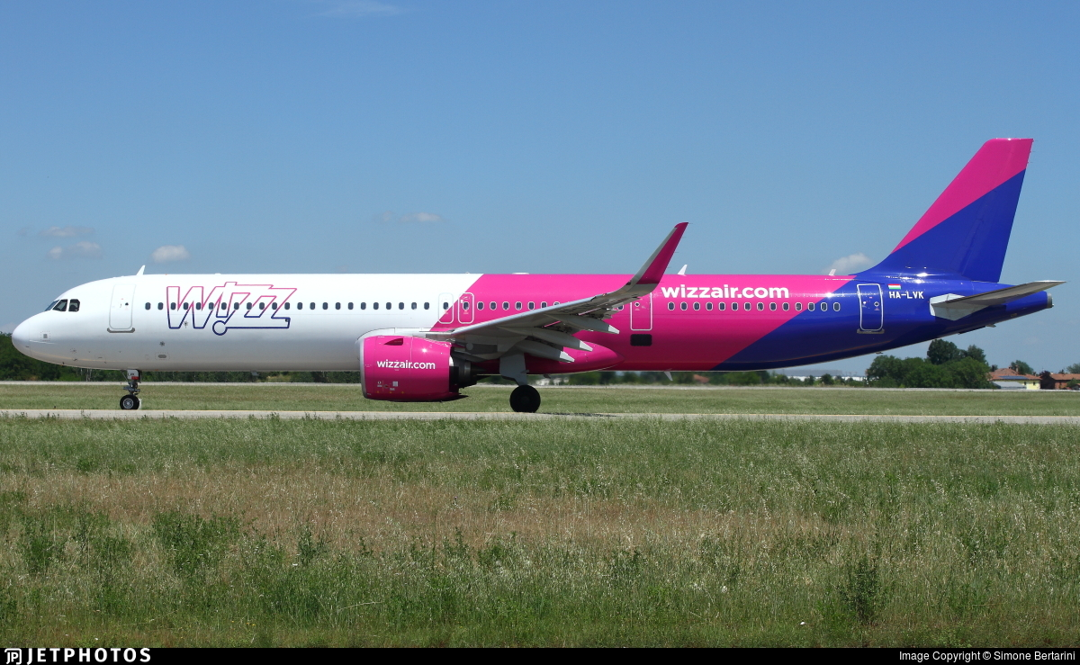 HA-LVK - Airbus A321-271NX - Wizz Air