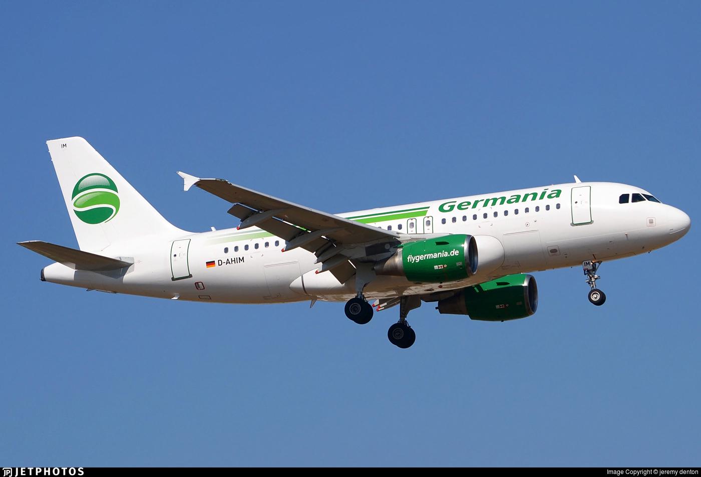 D-AHIM - Airbus A319-112 - Germania