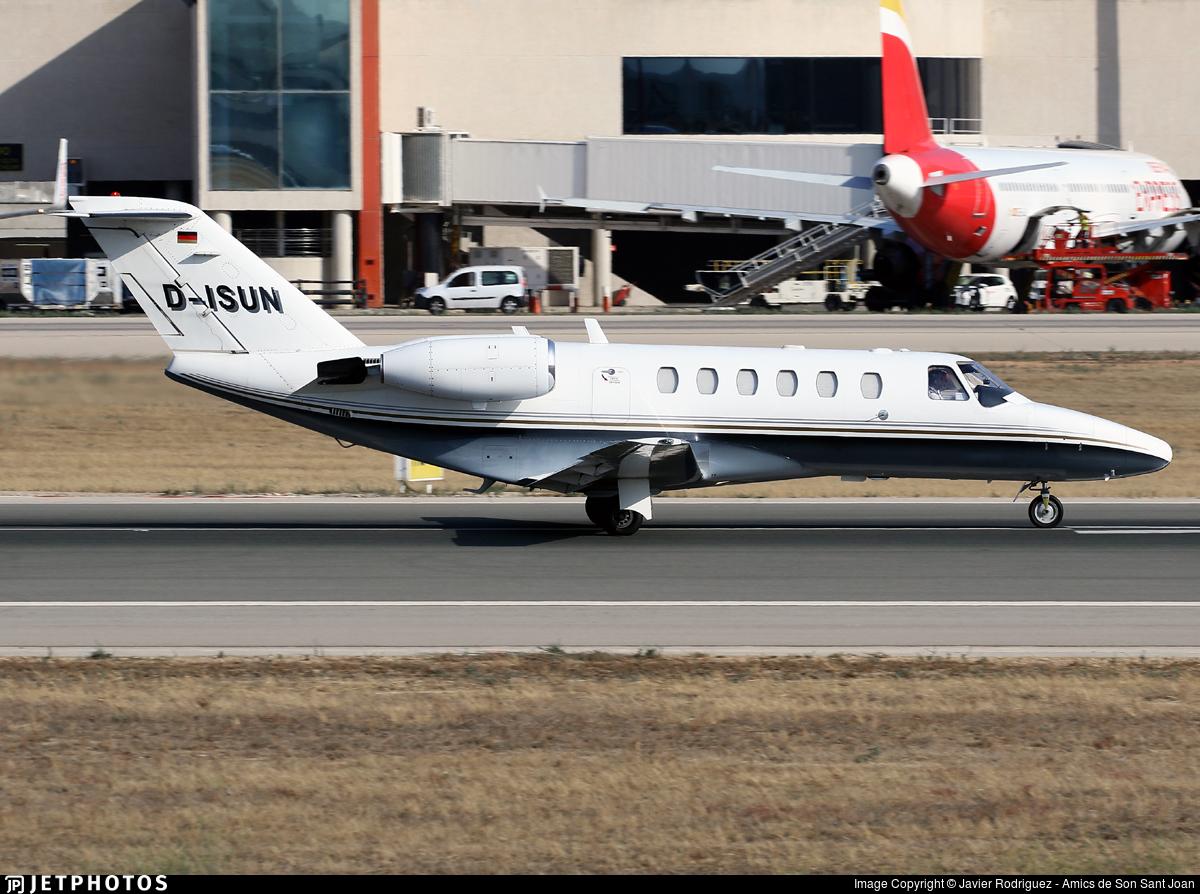 D-ISUN - Cessna 525A CitationJet 2 - Atlas Air Service
