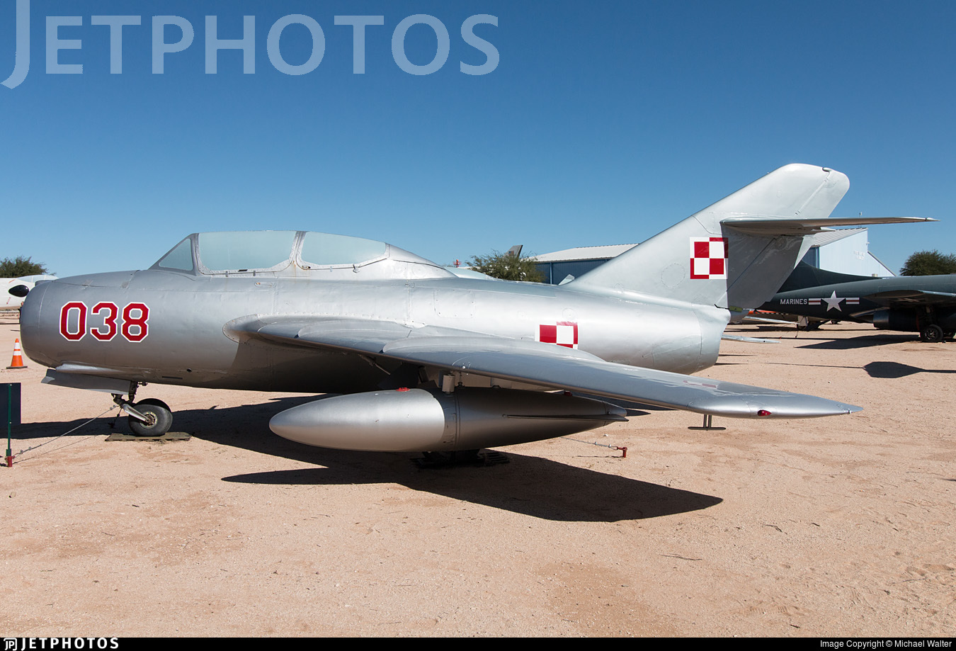 038 - Mikoyan-Gurevich MiG-15 Fagot - Poland - Air Force