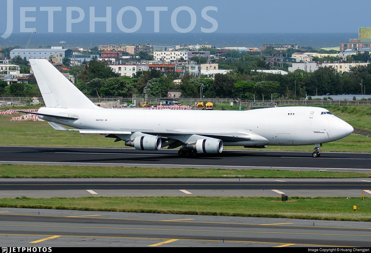 N407KZ - Boeing 747-4KZF(SCD) - Atlas Air