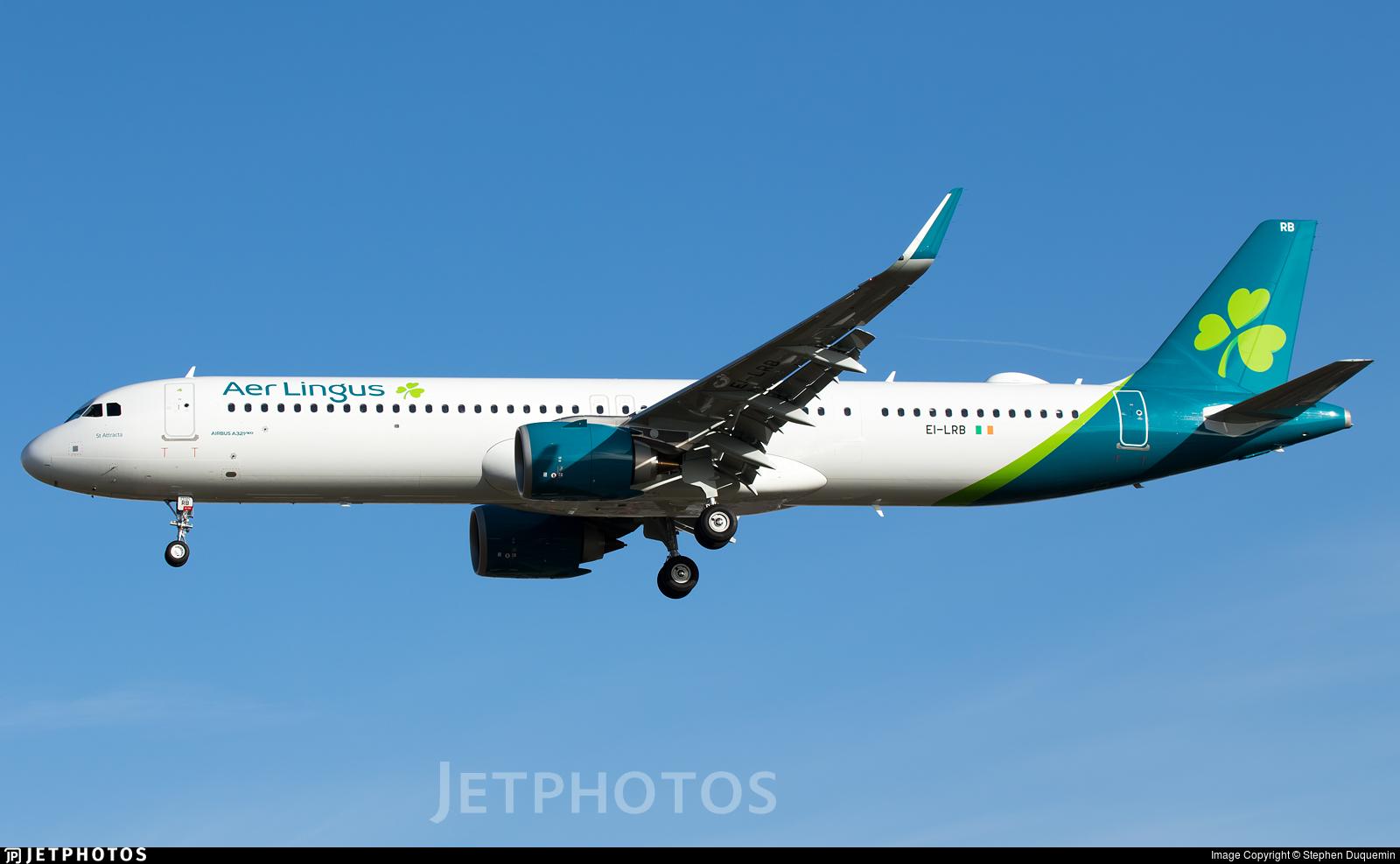 EI-LRB - Airbus A321-251NX - Aer Lingus