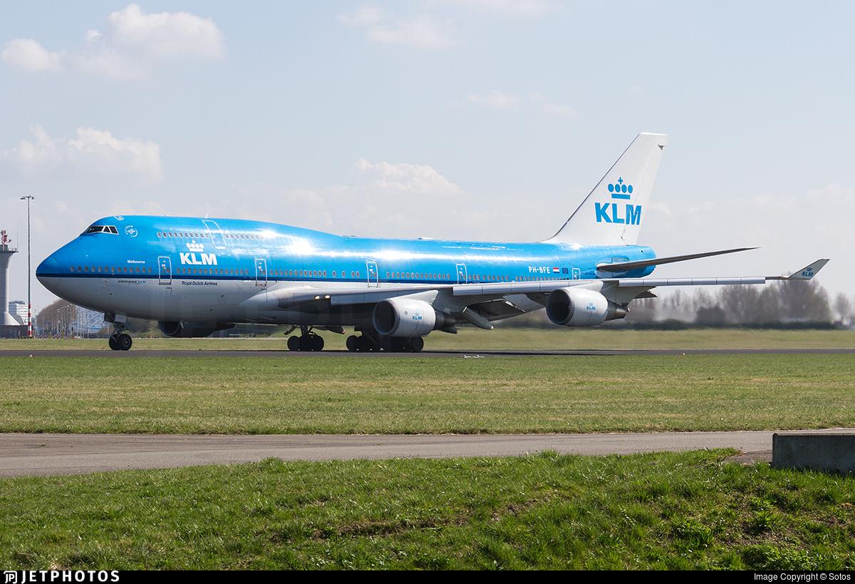 PH-BFE - Boeing 747-406(M) - KLM Royal Dutch Airlines