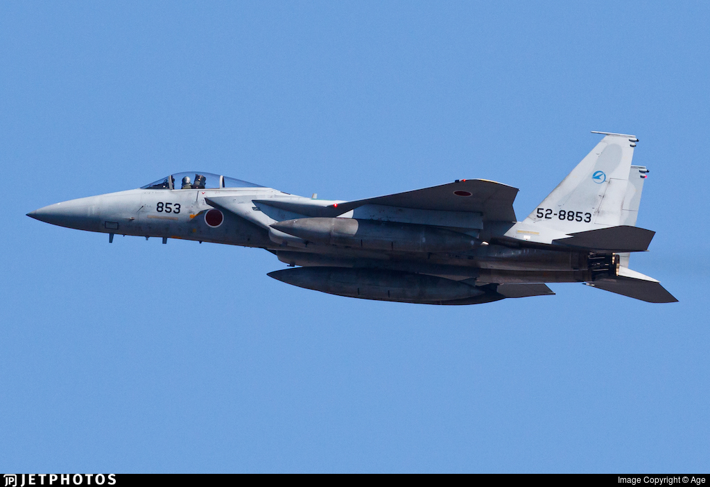 52-8853 - McDonnell Douglas F-15J Eagle - Japan - Air Self Defence Force (JASDF)